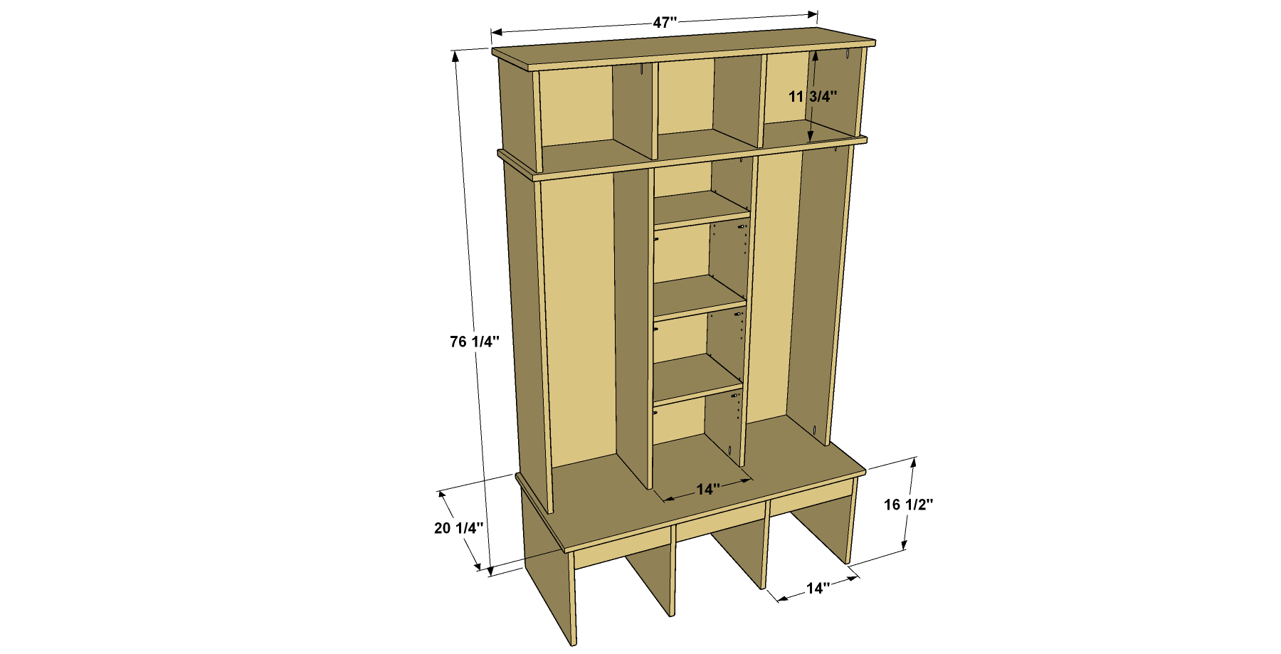 entryway-organizer-overall-with-dimensions