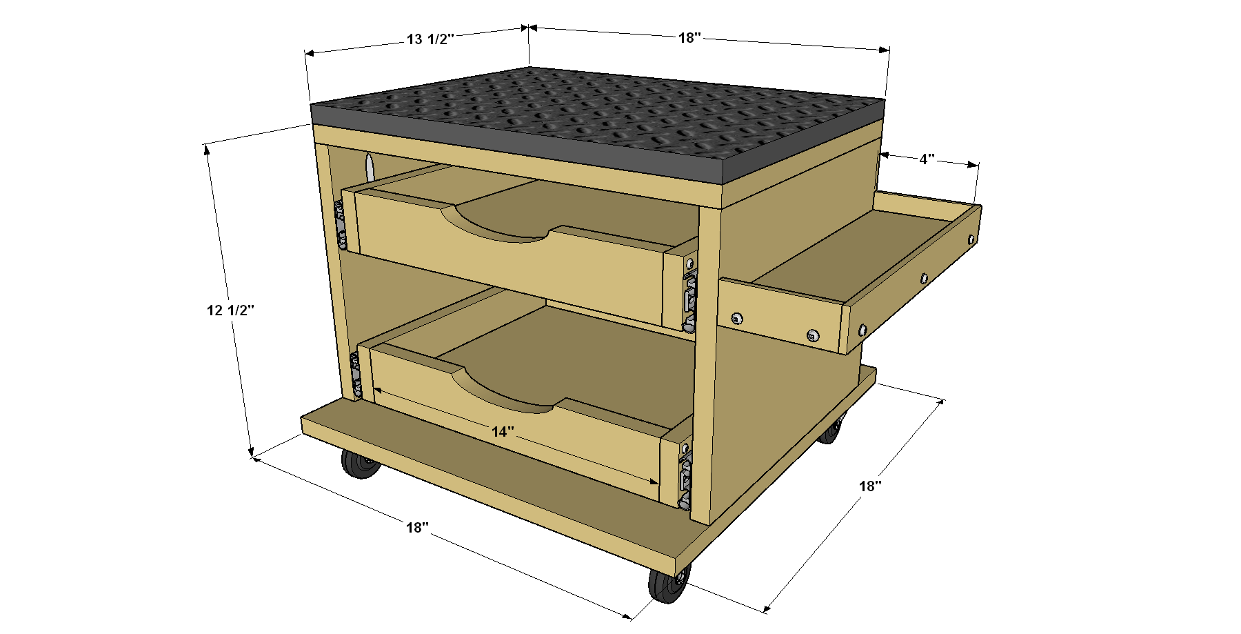 rolling-work-seat-and-tool-storage-cart-overall-with-dimensions