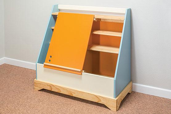 Toy Box with Easel