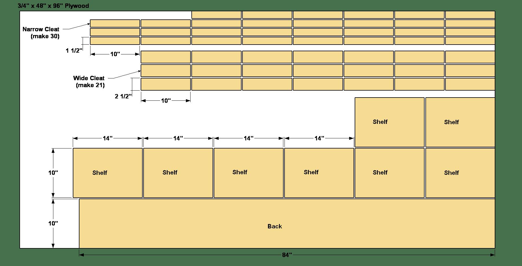 wall-mounted-shoe-rack-cut-diagram