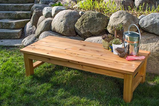 Cedar Backyard Bench