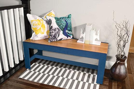Easy, Elegant Bench