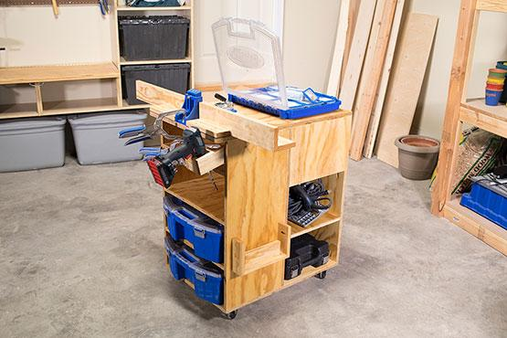Kreg Pocket-Hole Jig Work Center