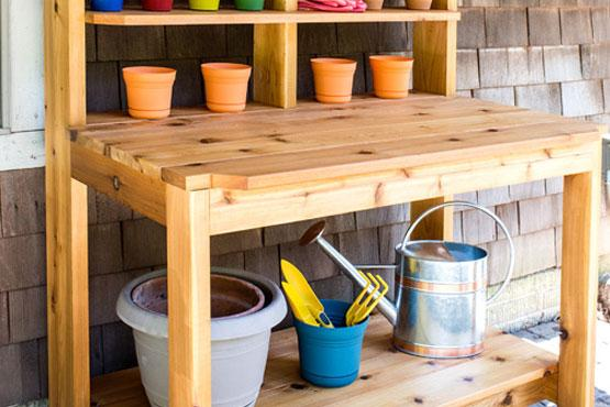 Built-To-Last Potting Bench