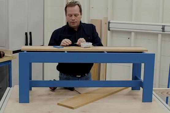 Build an easy, elegant bench