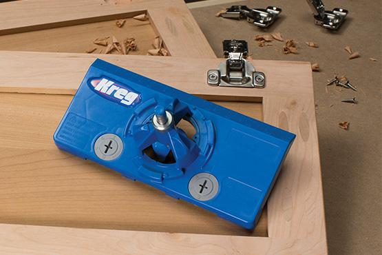 How to install concealed cabinet door hinges