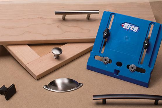 How to install knobs on cabinet doors