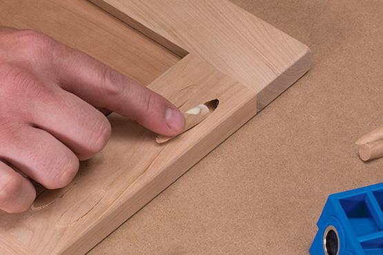 How to plug pocket holes