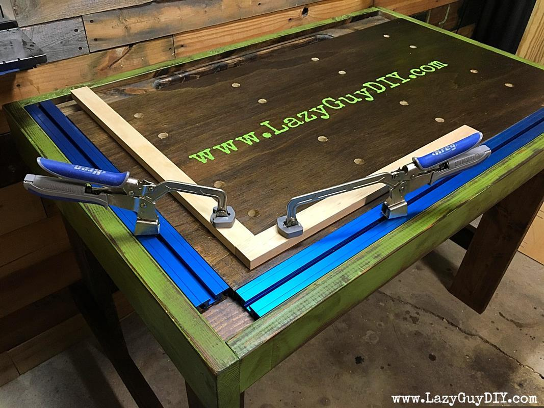 Kreg Clamp Workbench With Bench Dogs
