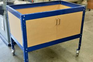 Workbench Storage Cabinet for Kreg Universal Bench