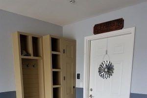 Garage/Mud room storage and orginizer