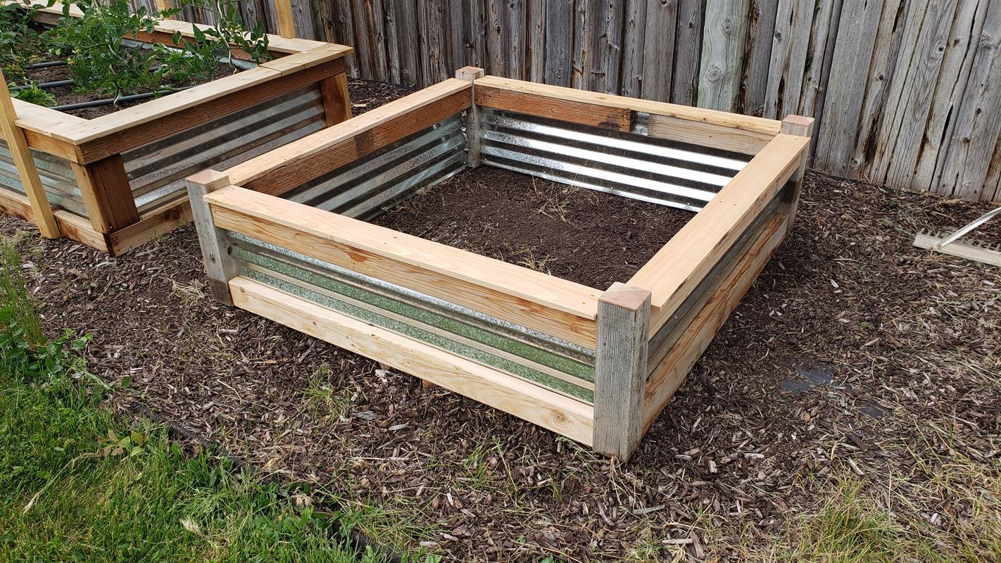 DIY Raised Garden Bed for Under $40
