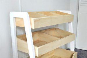 Three-tiered Children's Shelf