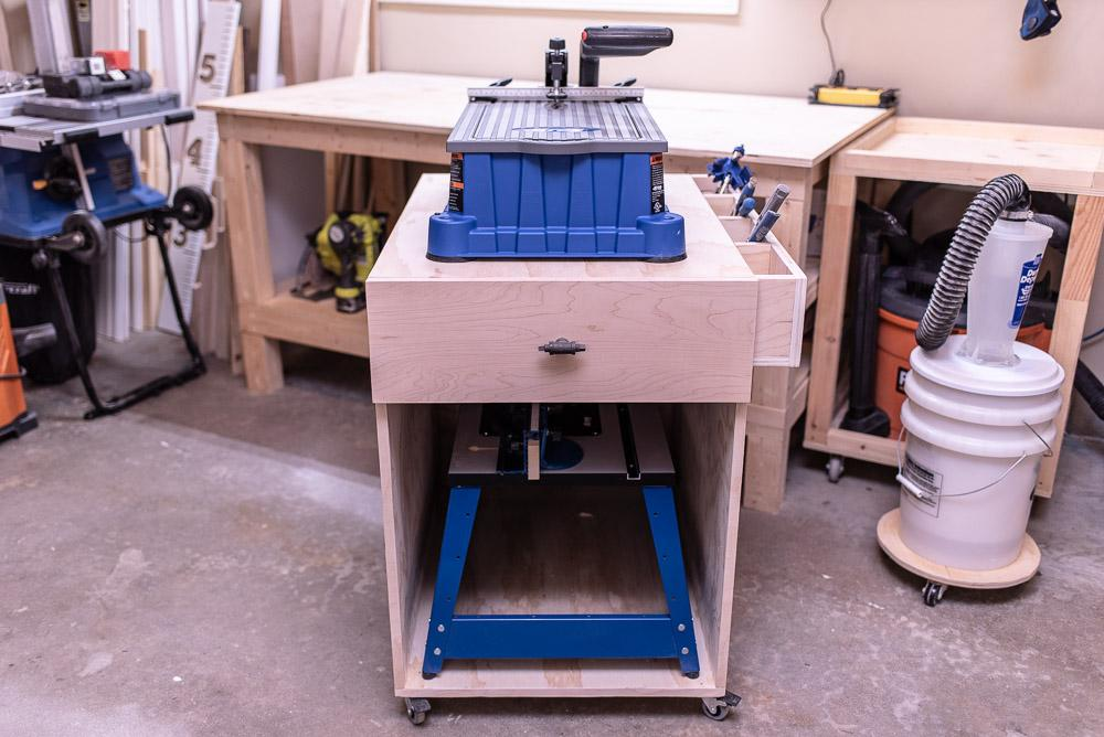 Mobile Shop Cart for Foreman / Router Table