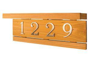 Custom Lighted Address Plaque