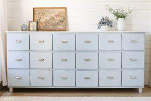 18 Drawer Apothecary Cabinet