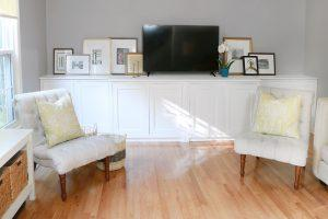 Custom Built-in Console Cabinets