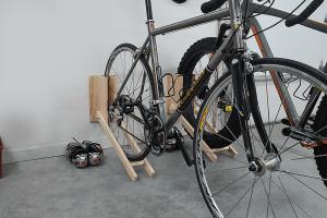 Compact Garage Bike Rack