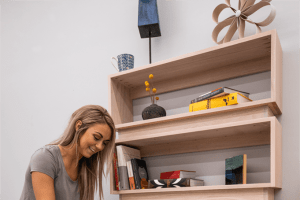 Stacked Bookcase – Metric