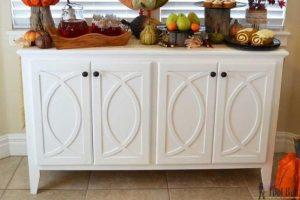 Buffet Cabinet with Circular Trim