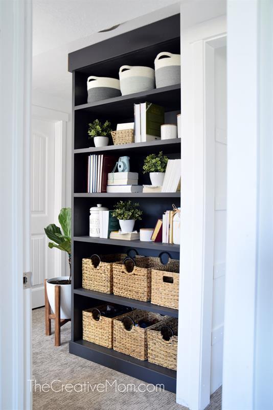 built-in-bookcase-diy