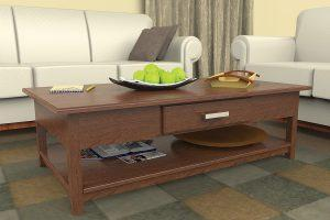 Traditional Coffee Table with Storage
