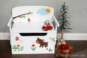 Convertible 3 in 1 Toy Chest