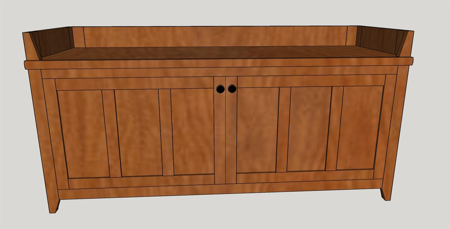 craftsman-style-storage-bench-colored-frony-view