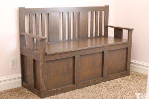 Craftsman Toy Box Bench