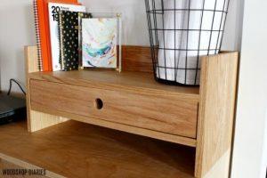 Simple DIY Desk Organizer