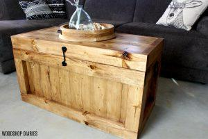 DIY Hope Chest {And Christmas Tree Box}