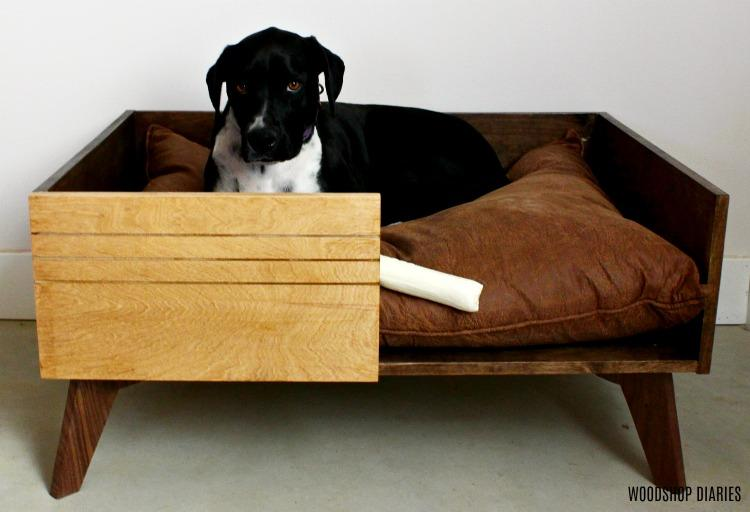 diy-large-dog-bed-lucy-lying-down-front-small
