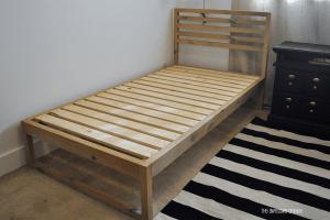 DIY Modern Twin Bed
