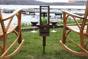 Outdoor Wine Caddy