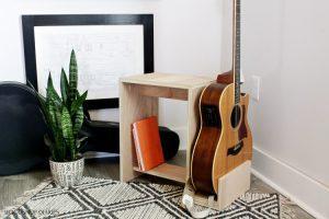 DIY Guitar Stand Stool