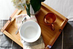 DIY Square Breakfast Tray