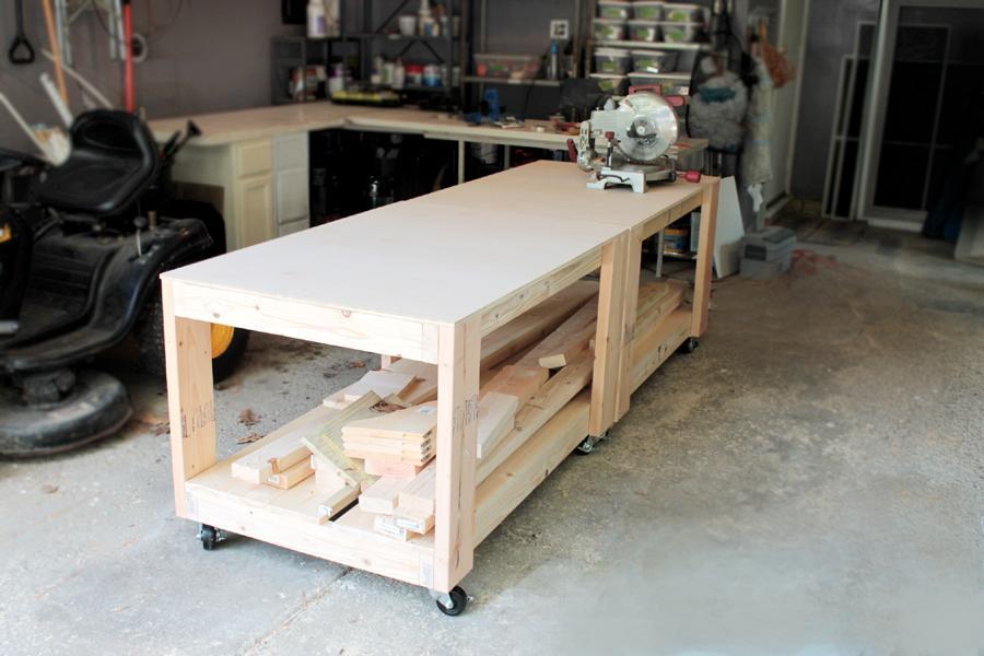 diy-workbench-two-side-by-side
