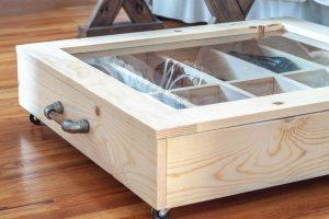 DIY underbed Shoe Storage