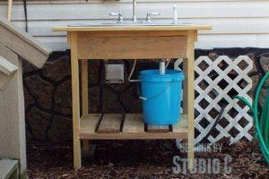 Build an Outdoor Sink