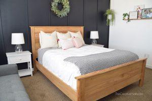 Queen Size Modern Farmhouse Bedframe