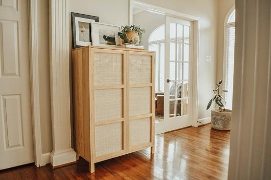 Cane Cabinet