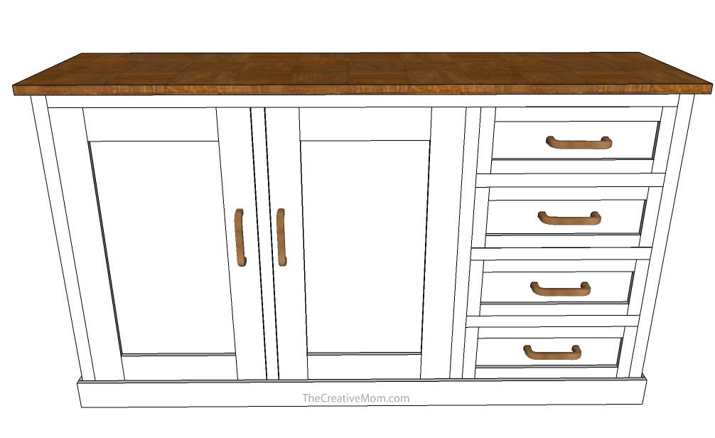 farmhouse-buffet-table