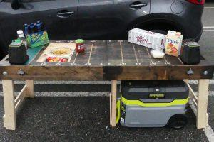 Ultimate Folding Tailgate Table