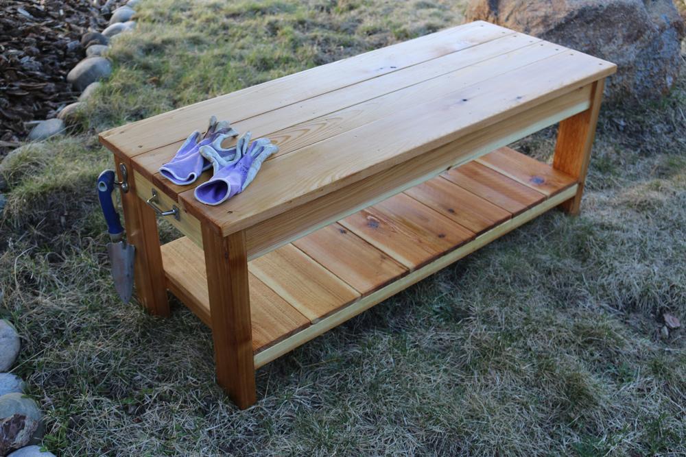 gardening-bench