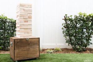 DIY Giant Jenga With Mobile Storage Case