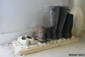 Simple Modern Boot Tray