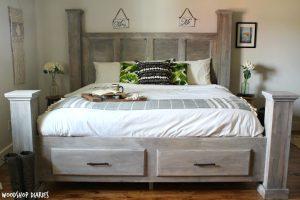 Farmhouse Storage Bed