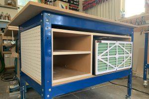 Air Filter Cart/Outfeed Table
