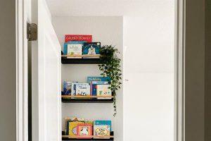 DIY Board Book Ledges