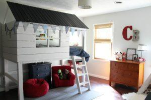 Kids Clubhouse & Loft Bed